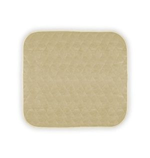 Americare Absorbent Washable Waterproof Seat Protector Pads 21″x22″ -ALMOND