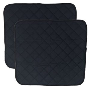 LUXEHOME Set of 2 Waterproof Cozy Seat Protector Cushion 22×21 Inch (Blue)