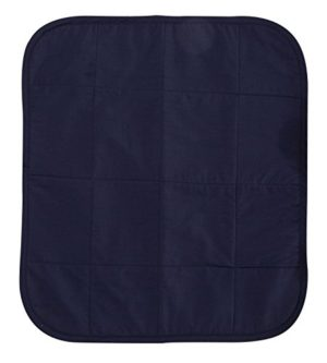 CareActive Quilted Waterproof Seat Protector, Navy, 1 Count