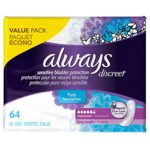 Always Discreet, Incontinence Pads, Maximum, Long Length, 64 Count