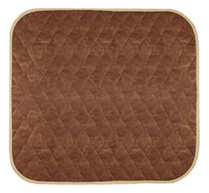 Americare Absorbent Washable Waterproof Seat Protector Pads 21″x22″ – BROWN